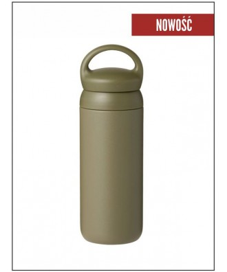 DAY OFF TUMBLER 500ml khaki
