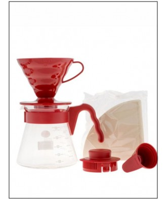 HARIO set V60 dripper + server + filters